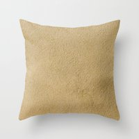 sand Throw Pillows featuring Sand by Patterns and Textures