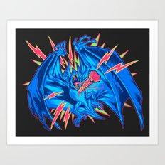 VAMPIRE BAT: STAKED! Art Print