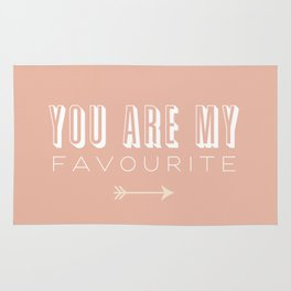You Are My Favourite Rug
