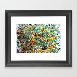 Conscious Chaos Framed Art Print
