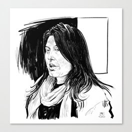 Sharmeen Obaid-Chinoy (filmmaker) Canvas Print