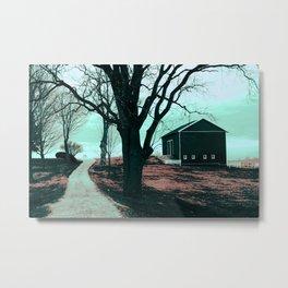 :: Road to Somewhere :: Metal Print