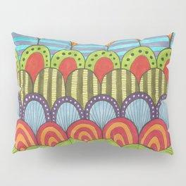 bright scalloped pattern 2 Pillow Sham