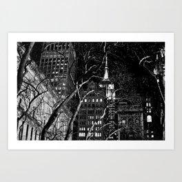 Bethesda Terrace Art Print