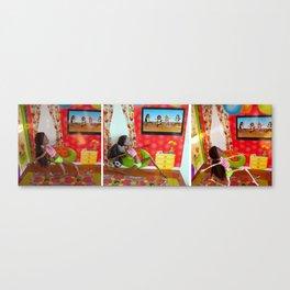 Anorexercise Canvas Print