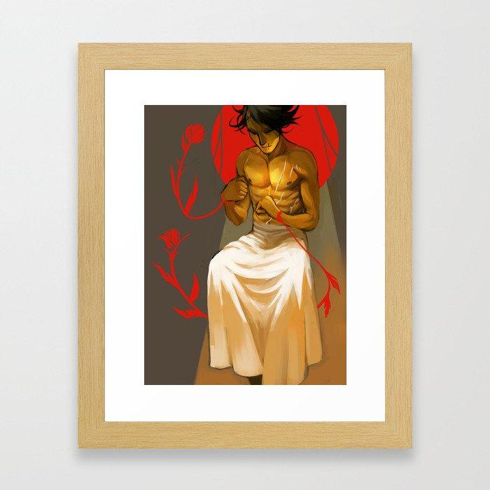 Tied Framed Art Print