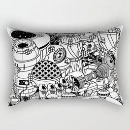 Dark Matter Space Machine Rectangular Pillow