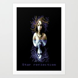 StarReflection Art Print