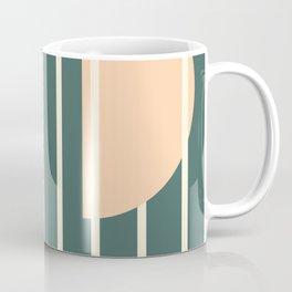 Moon between bars Coffee Mug