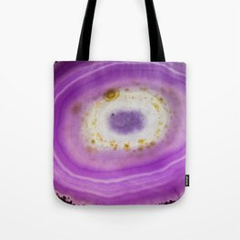 Purple Agate Tote Bag
