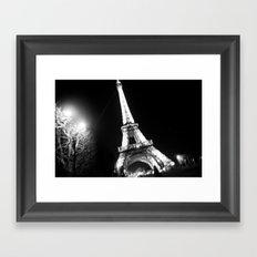 Those Crazy Nights In Paris Framed Art Print