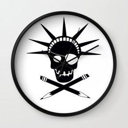 Pirates of Brooklyn Wall Clock