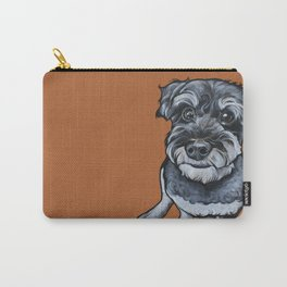 Frankie the Schnoodle Carry-All Pouch