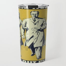 Vintage poster - We Are Helping to Stamp Out Syphilis Travel Mug