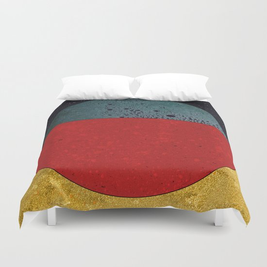 Abstract #131 Duvet Cover