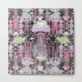 Jelly Dance Metal Print