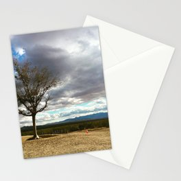 A Tree Stands Alone Stationery Cards