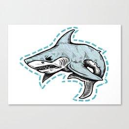 Cut it Out Canvas Print
