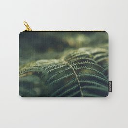 Green and Golden Carry-All Pouch