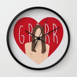 Grrrr Wall Clock