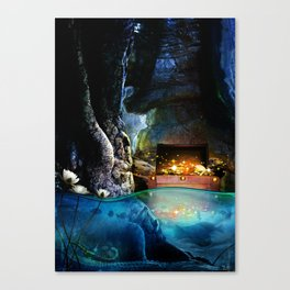 Treasure Cave Canvas Print