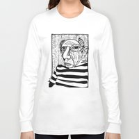 pablo picasso Long Sleeve T-shirts featuring Pablo Picasso by Benson Koo