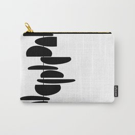 Kabob white and black Carry-All Pouch