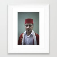 fez Framed Art Prints featuring Istanbul Fez by anthonjackson