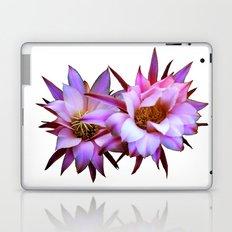Purple cactus blossom Laptop & iPad Skin