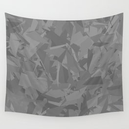 Gray cement stone camouflage Wall Tapestry
