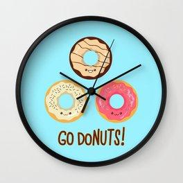 Go doNUTS! Wall Clock