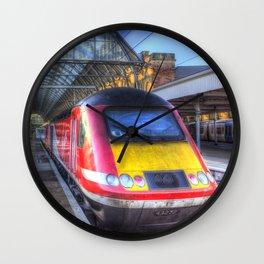 Virgin Train Kings Cross Station Wall Clock