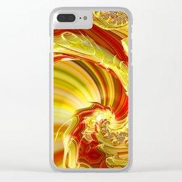 Dragon Trail Clear iPhone Case