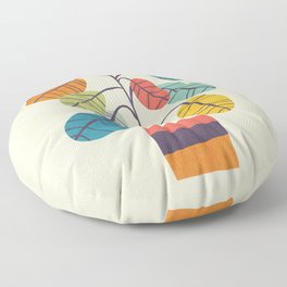 Potted plant 2 Floor Pillow
