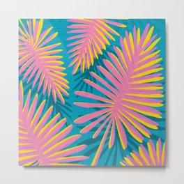 Bright Tropicals Metal Print