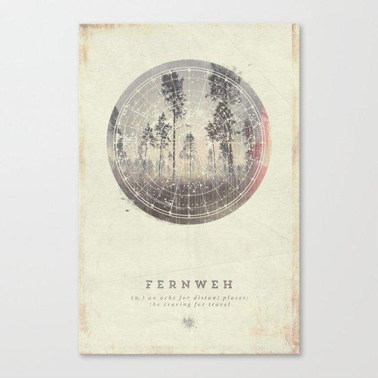 Fernweh Vol 4 Canvas Print