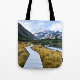 Mt.Cook New Zealand - A hikers dream Tote Bag