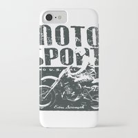 sport iPhone & iPod Cases featuring Motor Sport by Tshirt-Factory