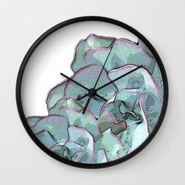 Succulent N.2 Wall Clock