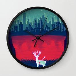 Victim of Civilization Wall Clock