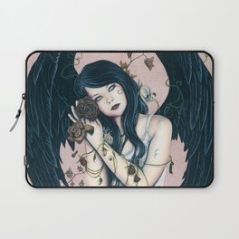 Wither Gothic Angel Of Decay Laptop Sleeve
