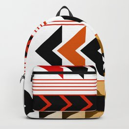 Colourful Arrows Graphic Art Design Backpack