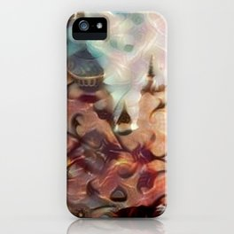 Halle in a Carpet Image 2 iPhone Case