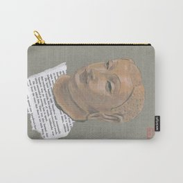 Head of Buddha (Siddartha) Carry-All Pouch