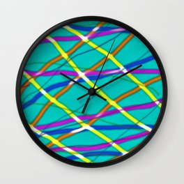 Glow Colour Wall Clock