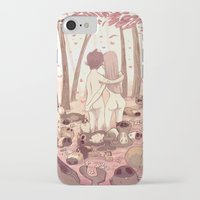 guinea pig iPhone & iPod Cases featuring guinea pig paradise by szerk