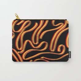 Contrast lines Carry-All Pouch