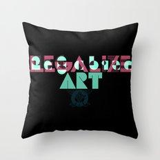 Legalize Art Throw Pillow