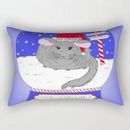 Chin-Chillin' Christmas Rectangular Pillow
