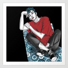 801 BOYS LOVE-SAKURA Art Print